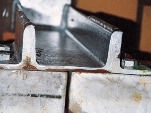 21. REMOVAL OF ZINC COATING BY EXCESSIVE CLEANING